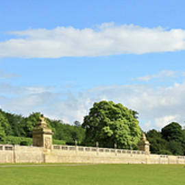 A View of Chatsworth House, Great Britain by Derrick Neill