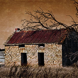 Abandoned Stone House by Anna Louise