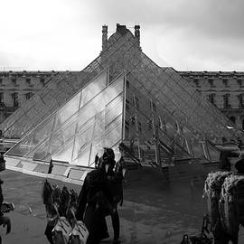 Abstract Photography- The Louvre Paris by Vinod Madhok