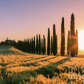 Henk Meijer Photography - Agriturismo Poggio Covili at sunrise