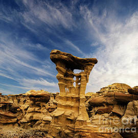 Alien Throne New Mexico by Bob Christopher