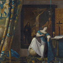 Allegory Of The Faith by Jan Vermeer