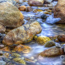 Alluvial Fan Stream - Twenty Two North Photography