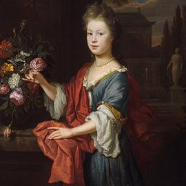 Thomas van der Wilt - An Unknown Young Girl