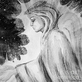 Angel Of Mercy 2 In Black And White by Leanne Seymour