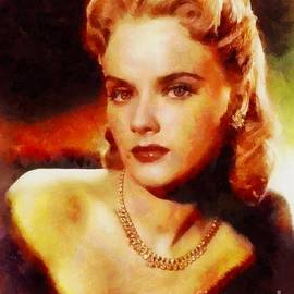 Sarah Kirk - Anne Francis, Vintage Hollywood Actress