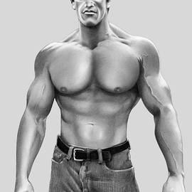 Arnold Schwarzenegger by Murphy Elliott