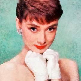 Audrey Hepburn by John Springfield - John Springfield