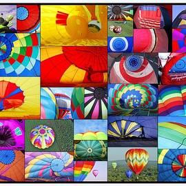 Allen Beatty - Balloon Fantasy Collage