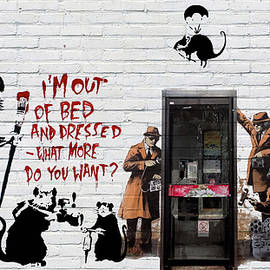 Banksy - The Tribute - Rats
