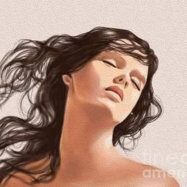 Beautiful Girl 1 D by Nesrin Gulistan