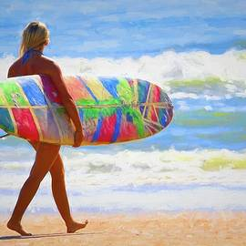 Beauty And Her Board by Alice Gipson