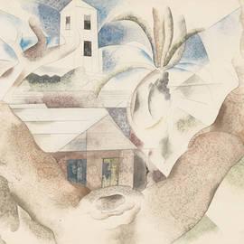 Bermuda No. 1, Tree and House - Charles Demuth
