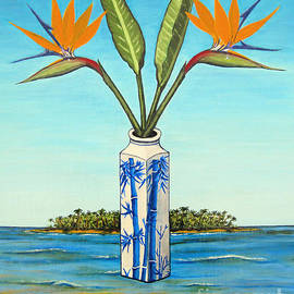 Jerome Stumphauzer - Birds of Paradise Over Fiji