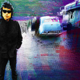 Bob Dylan No Direction Home 2 by Tony Rubino