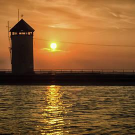 Brightlingsea Sunset - Martin Newman