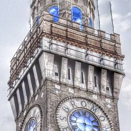 Bromo Seltzer Tower Baltimore Clock  - Marianna Mills