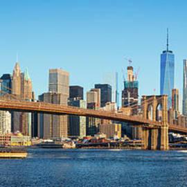 Inge Johnsson - Brooklyn Bridge Panorama