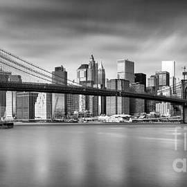Brooklyn Bridge Panorama by John Farnan