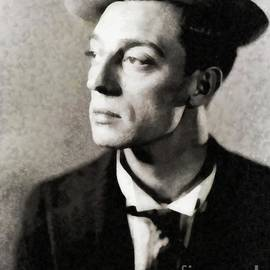 John Springfield - Buster Keaton, Vintage Comedian and Actor by JS