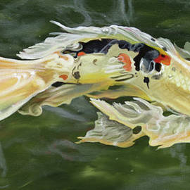 Phyllis Beiser - Butterfly Koi