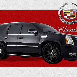 Cadillac Escalade with 3 D Badge