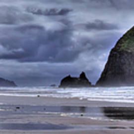 Cannon Beach Panorama by David Patterson