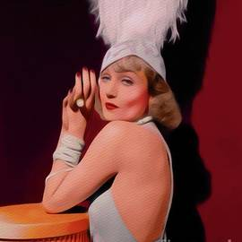 John Springfield - Carole Lombard, Vintage Movie Star