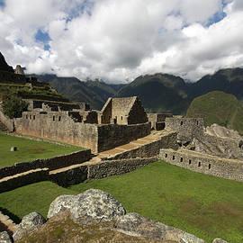 Aidan Moran - Central Plaza At Machu Picchu, Peru