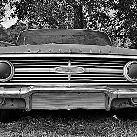 Chevrolet Bel Air Black And White 2 by Lisa Wooten