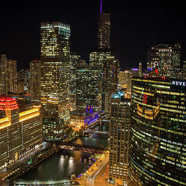 Raf Winterpacht - Chicago Nightscape