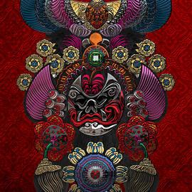 Chinese Masks - Large Masks Series - The Demon