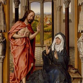 Christ Appearing to his Mother - Juan de Flandes