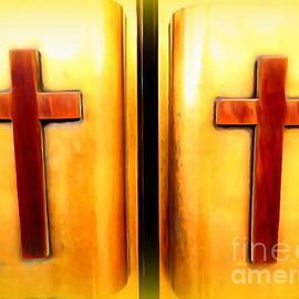 Church Doors by Ed Weidman