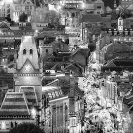 City night view at Christmas by Simon Bratt Photography LRPS
