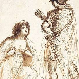 Cleopatra and Octavian - Guercino