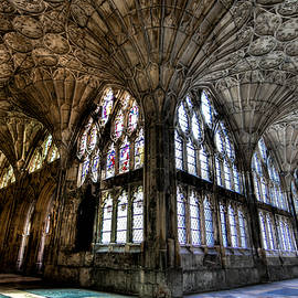 Peggy Berger - Cloister at Gloucester Cathedral