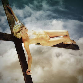 Ramon Martinez - Clouds and crucifix