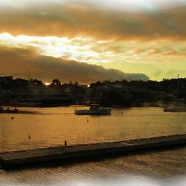 Cloudy Sunset, Boothbay Harbor by Robert McCulloch