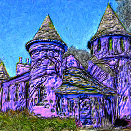 Colorful Curwood Castle by Bruce Nutting