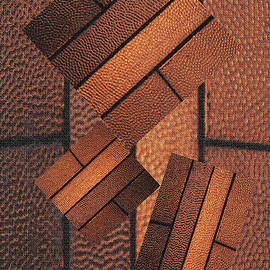 Tom Janca - Copper Plate Abstract