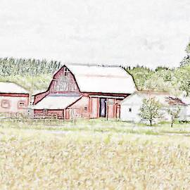Country Barn by Bill Richards