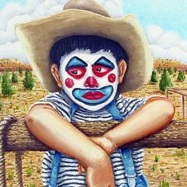 County Fair Clown by Santiago Chavez