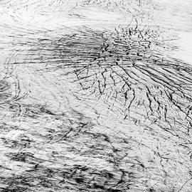 Cracks In A Glacier by Gunnar Orn Arnason
