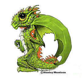 D is for Dragon by Stanley Morrison