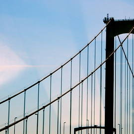 Delaware Memorial Bridge by Arlane Crump
