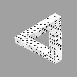 Dice Illusion by Shane Bechler