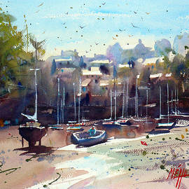 Andre MEHU - Doelan little harbour in Brittany