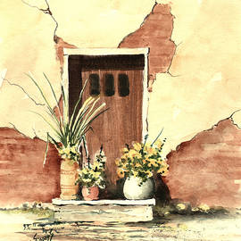Door With Pots by Sam Sidders