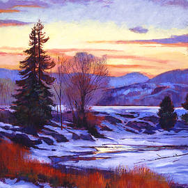David Lloyd Glover - Early Spring Daybreak